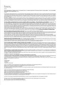 PM Letter